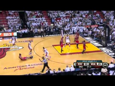 NBA Playoffs Conference 2013: Chicago Bulls Vs Miami Heat Highlights May 15, 2013 Game 5