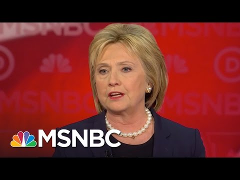 Hillary Clinton Won't Send US Combat Troops To Iraq, Syria | Democratic Debate | MSNBC