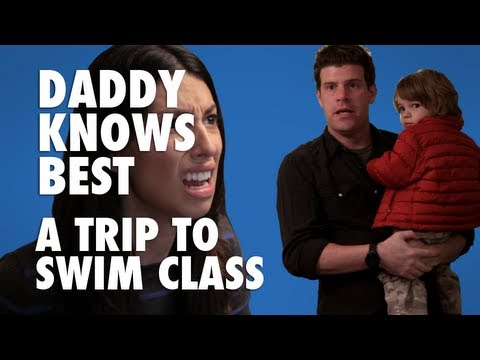 Daddy Knows Best - A Trip to Swim Class