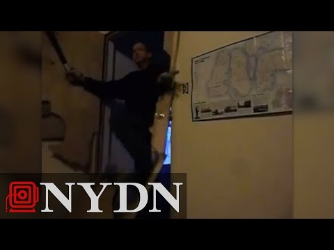 Machete-wielding Idaho man breaks through door before tenant shoots him