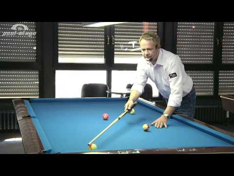 Pool Lessons  - Reference-Line No. 3, Ralph Eckert, Pool Billard Training Lessons