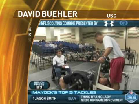 David Buehler, USC - K - The Draft's Strongest Leg.