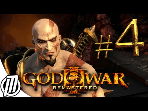 God of War 3 PS4 Remastered: Gameplay Walkthrough Part 4 - Live Stream