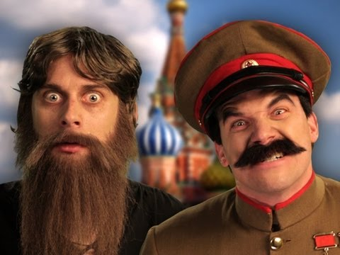 Rasputin vs Stalin.  Epic Rap Battles of History Season 2 finale. Music Videos