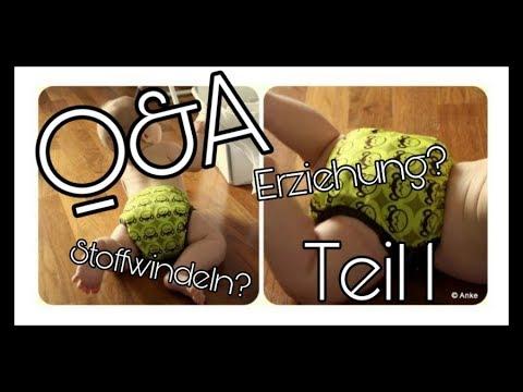 Q&A | Teil 1 | Stoffwindeln? | Geschlecht ? || Schwanger mit 18