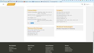 Бюджетненькие процессоры mediatek: MT6739,MT6738,MT6737,MT6737T,MT6735,MT6732,MT6595