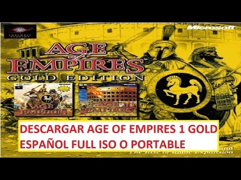 Descargar Age of Empires 1 GOLD Full Español ISO o Portable 1 Link 2014