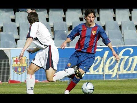 Lionel Messi vs Girona ● Barça B debut