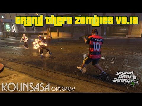 Grand Theft Zombies v0.1a