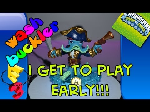 I Get To Play Early!!!: Skylanders Swap Force - Wash Buckler @ Electronic Entertainment Expo E3M13
