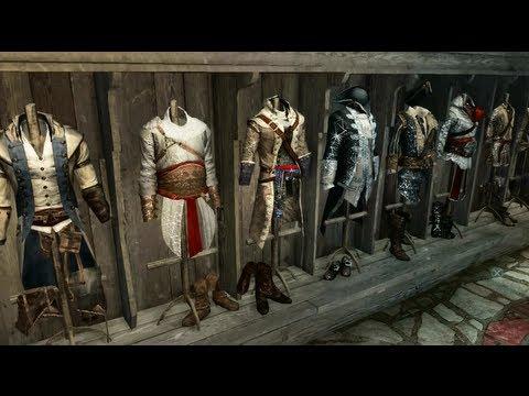 Assassin's Creed III - Colección Todos los Atuendos / Trajes Desbloqueables - Cómo conseguirlos