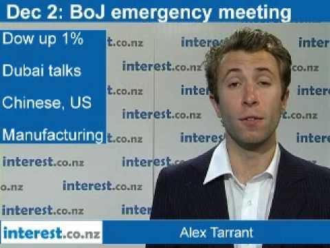 90 at 9: Dec 2: BoJ emergency meeting; Fonterra internet price up 3.6%