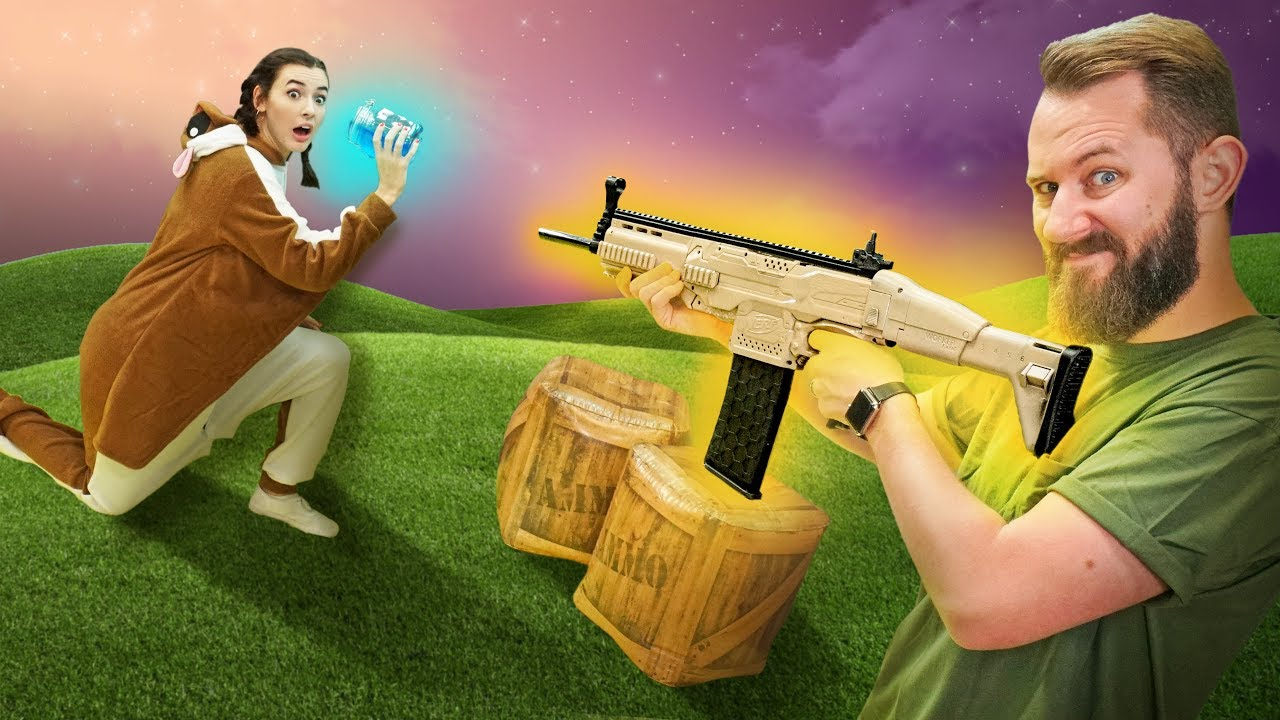 NERF Fortnite Battle Royale Challenge