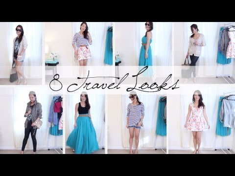 8 Outfits 1 Carryon Suitcase - Vacation Outfit Ideas | ANNEORSHINE