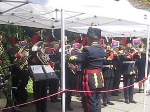 """God Save The Queen"", performed by the 15th Field Band"