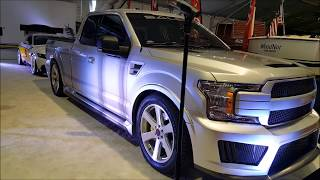 2018 Saleen Sportruck + S7 and the all new Saleen S1