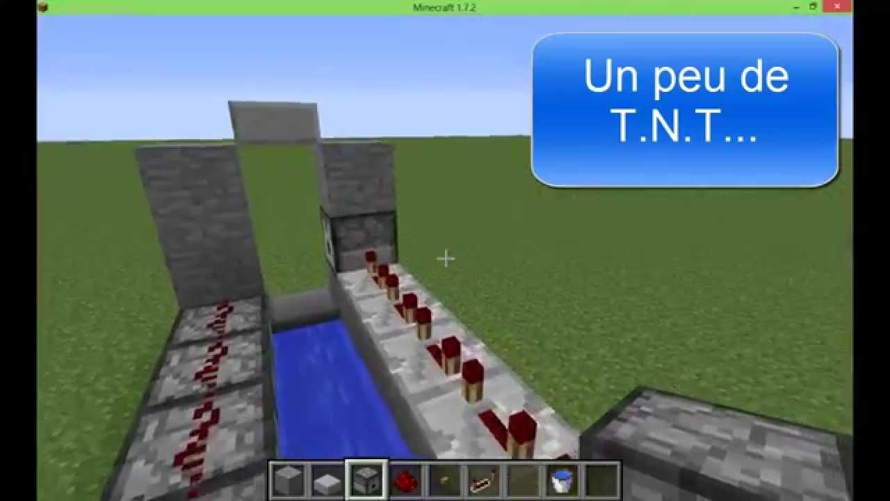 Semi Automatique Minecraft