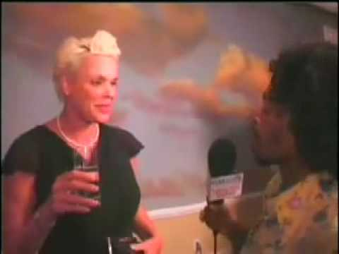 Brigitte Nielsen at PRISM AWARDS 08