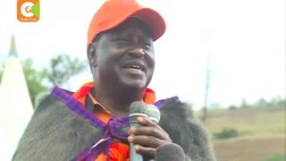 Raila awara wakazi Narok kujiandikisaha kama wapiga kura
