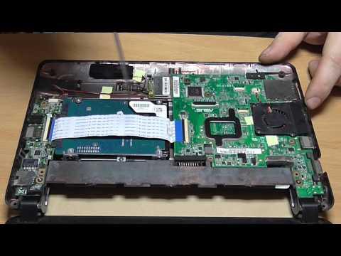 Замена жесткого диска. Замена HDD на нетбуке ASUS.