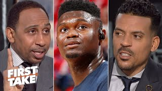 Stephen A. & Matt Barnes discuss Zion's injury risk | First Take