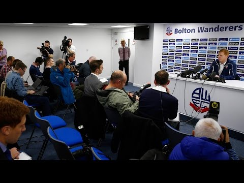 NEIL LENNON | Manager's first Bolton Wanderers press conference