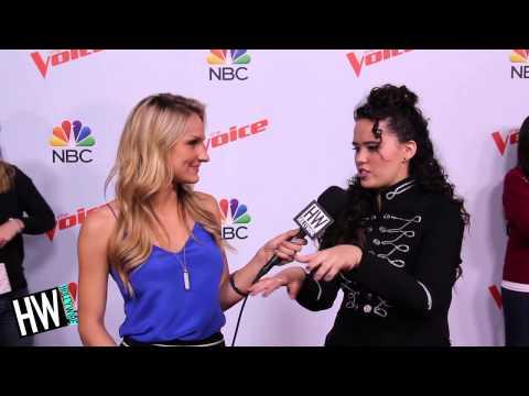 Hannah Kirby Talks Blake Shelton Advice & Reveals Go-To Dance Move!