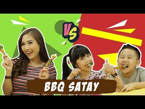 """Main BBQ Satay bareng Puput Carolina - Darell Vs Calista """"KATA BOCAH"""""""