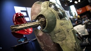 Star Wars Slave I Studio Scale Model Replica!