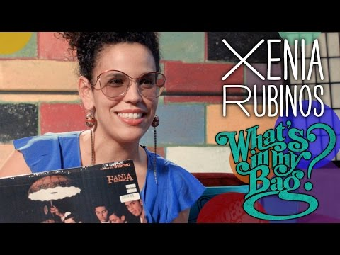 Xenia Rubinos - What's In My Bag?