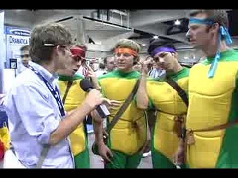 Comic-Con 2008: Super Heroes and College? Video