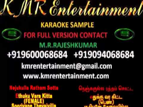 CHILLAX CHILLAX (VELAYUDHAM) TAMIL KARAOKE BY KMR ENTERTAINMENT...