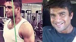 R. Madhavan workout before and after 2014
