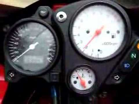 1998 Honda VTR Superhawk Video