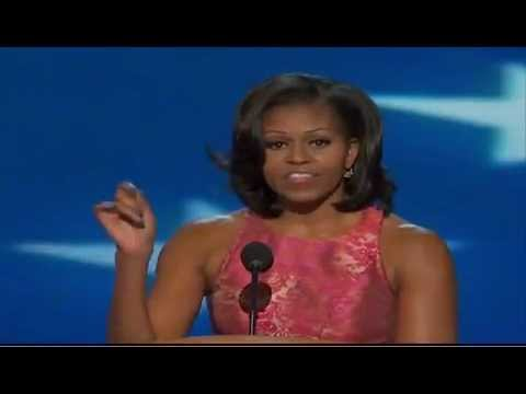 Michelle Obama's full DNC speech