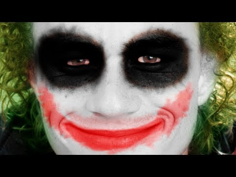 Tutorial Photoshop CS6 - Efeito Maquiagem do Coringa (Joker)