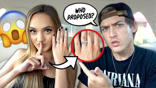 Wearing An ENGAGEMENT RING To See How My Boyfriend Reacts...