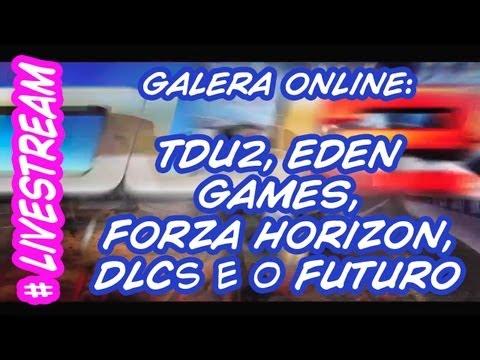 #Livestream - Inscritos falando sobre TDU2, Forza Horizon, DLC e muito mais