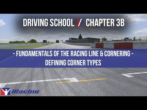 iRacing.com Driving School Chapter 3B: Fundamentals of the Racing Line & Cornering