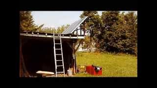Setting up my solar panels part 2 from Blemished  solar panels