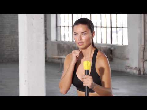 Train Like An Angel 2014:  Adriana Lima Full-Body Workout
