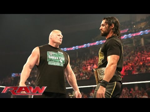Brock Lesnar is revealed as Seth Rollins' next challenger: Raw, June 15, 2015