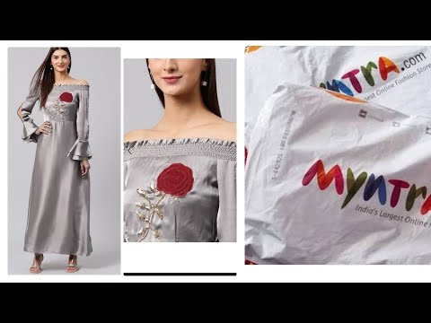 Myntra gown try on|Myntra review|Myntra Kurtie review|xxl kurties at Myntra|online shopping review