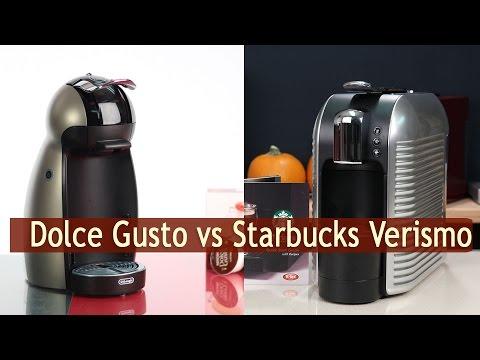 Dolce Gusto vs Starbucks Verismo - Review and Comparison