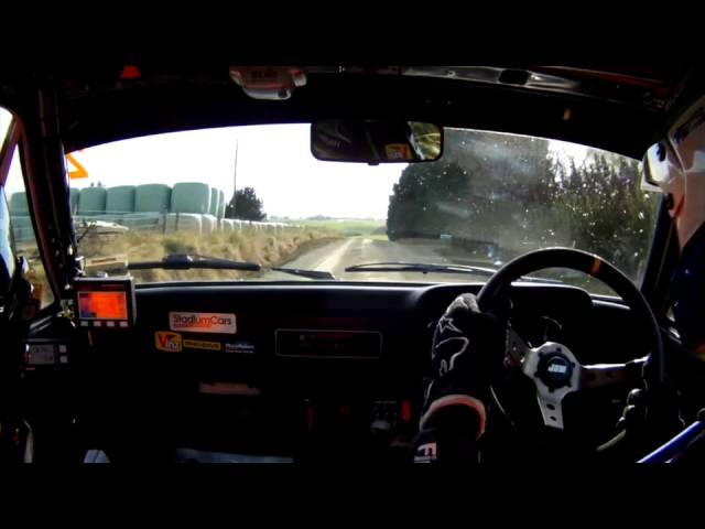Hayden Paddon BDA Escort onboard - 2014 Rally Otago