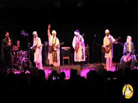 Concert du groupe Imzad au CCA à Paris