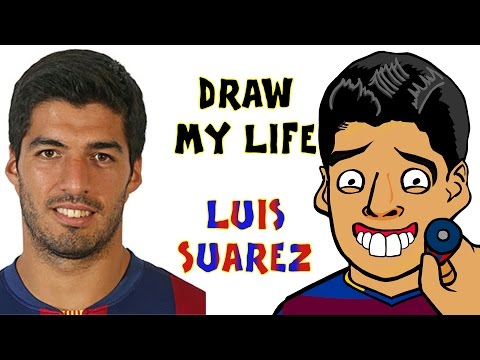 Luis Suarez - DRAW MY LIFE (El Clasico 2016 preview l BITE l top moments l incidents l best bits)
