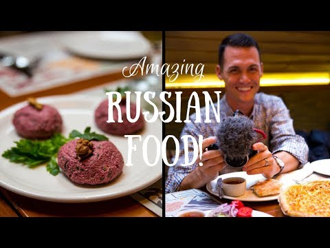 WHAT THEY EAT IN RUSSIA | DELICIOUS Moscow Food Tour!