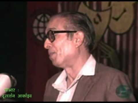 Shri Sharad Joshi ji's LIVE recording digitally remastered by Aalok Bajpai..flv