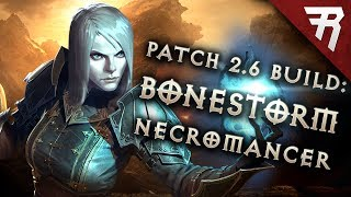 Diablo 3 2.6 Necromancer Build: BONESTORM Inarius GR 107+ (Guide, Season 11)